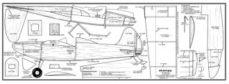 Skampy model airplane plan