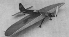 Skolak model airplane plan