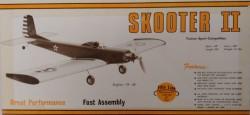 Skooter II model airplane plan