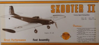 Skooter II model airplane plan