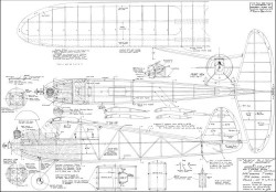 Sky Baby 1941 model airplane plan