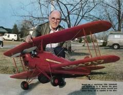 Skyote model airplane plan