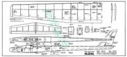 Slidil model airplane plan