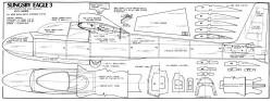 Slingsby Eagle 3 model airplane plan