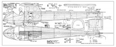 Slingsby S-21B model airplane plan