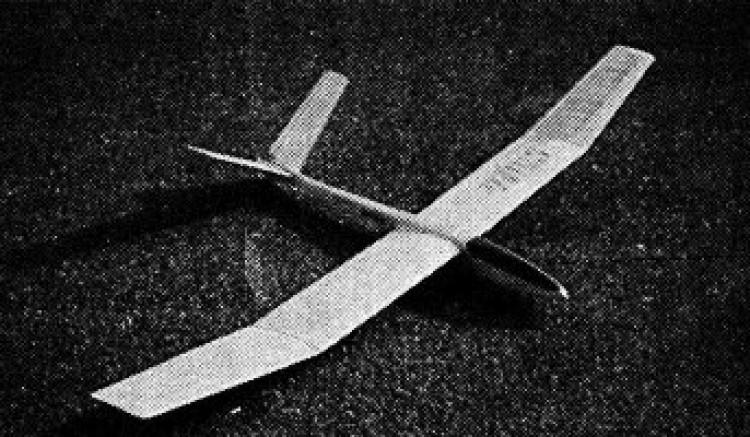 Sluka model airplane plan