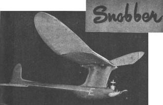 Snobber model airplane plan