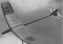 Sojka model airplane plan