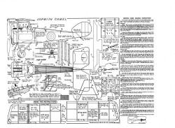 Sopwith Camel KK model airplane plan