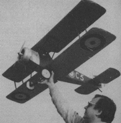 Sopwith 1 1/2 Strutter model airplane plan
