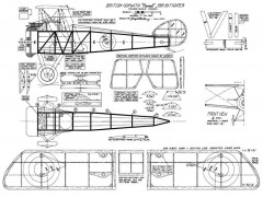 Sopwith Camel J Wherry model airplane plan
