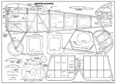 Sopwith Scooter model airplane plan