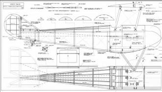 Sopwith Tabloid model airplane plan