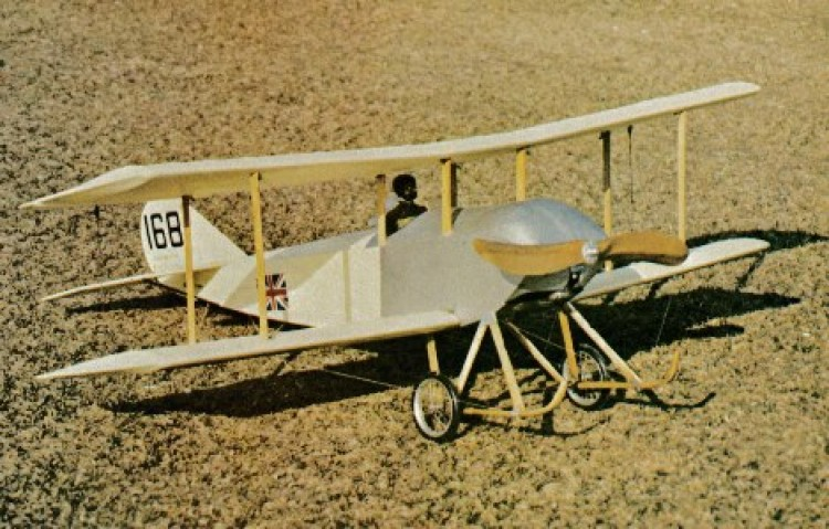 Sopwith Tabloid  20in model airplane plan