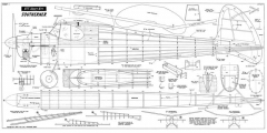 Southerner 60 kk model airplane plan