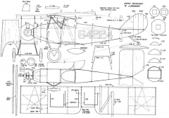 Sperry-Messenger model airplane plan