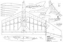 Spezi Delta model airplane plan