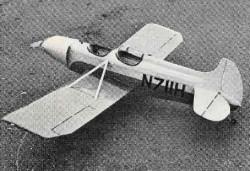 Spezio Dal-1 model airplane plan