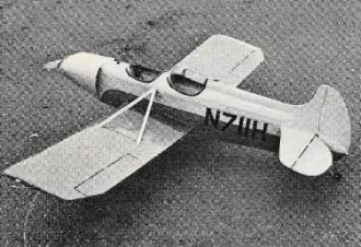 Spezio Dal-1 model airplane plan
