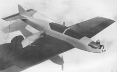 Spirrevip model airplane plan