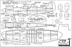 Spitfire MkVB model airplane plan