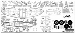 Supermarine Spitfire IX model airplane plan