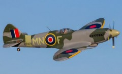 Spitfire Mk XIV model airplane plan