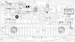 Spitfire VIII Kookaburra model airplane plan