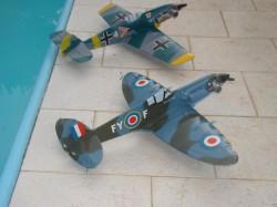 Spitfire 15 model airplane plan