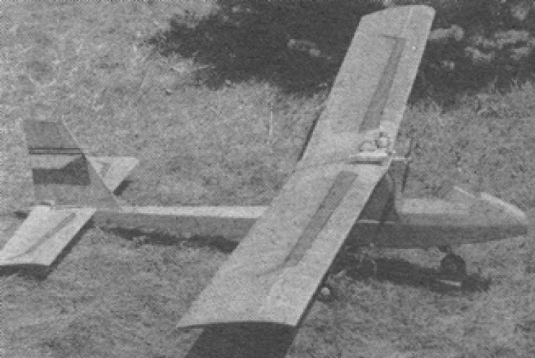 Splneny Sen model airplane plan