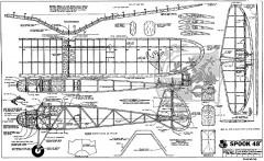 "Spook 48"" model airplane plan"