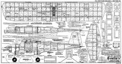 Sportster 40 model airplane plan