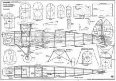 Stampe SV4 39in model airplane plan