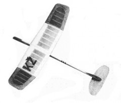 Standar model airplane plan