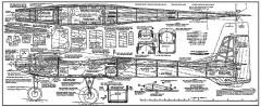 Stark Shark model airplane plan