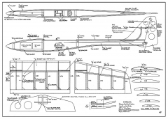 Starling HLG model airplane plan