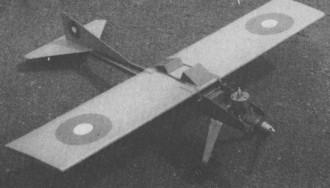 Start model airplane plan
