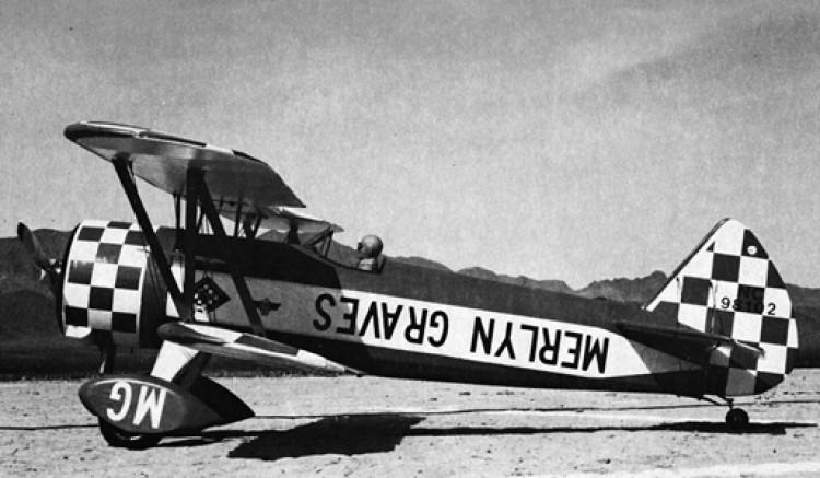 Stearman PT-17 model airplane plan