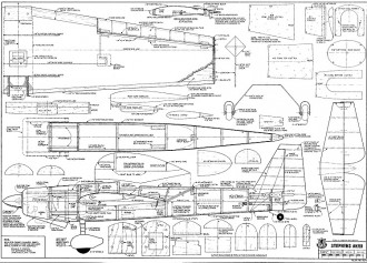 Stephens Akro model airplane plan