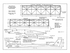 Stiletto III model airplane plan