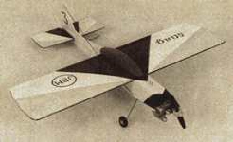 Sting model airplane plan