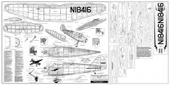 Stinson Reliant SR-9C model airplane plan