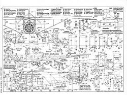 Stinson Reliant SR model airplane plan