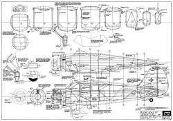 Stinson SR-9 Gullwing Reliant model airplane plan