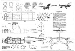 Stinson Trimotor Model C model airplane plan