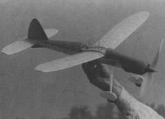 Stormhawk model airplane plan