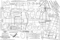 Il-2 Stormovik model airplane plan
