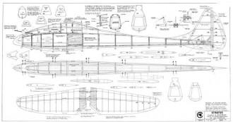 Stratus model airplane plan