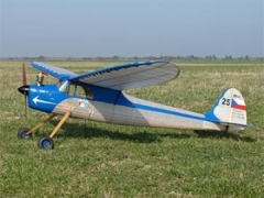 Stribrny Sip VB41a model airplane plan
