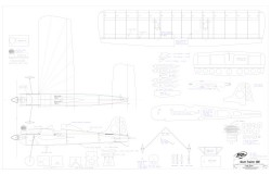 Stunt Trainer 180 16 model airplane plan